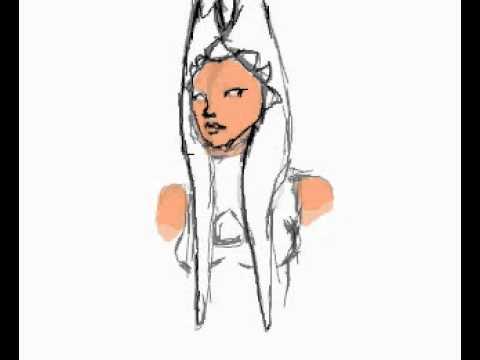 Drawing Ahsoka Tano