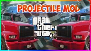 GTA 5 Mods - СКОРОСТЬ ПУЛИ | Projectile Mod