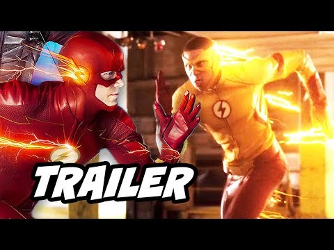 The Flash 4x10 Promo - Wally West Theory and The Trial of The Flash Comics Explained thumbnail