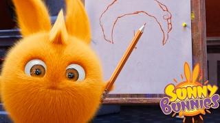 Cartoons for Children | Sunny Bunnies THE SUNNY BUNNIES ART CLASS | Funny Cartoons For Children