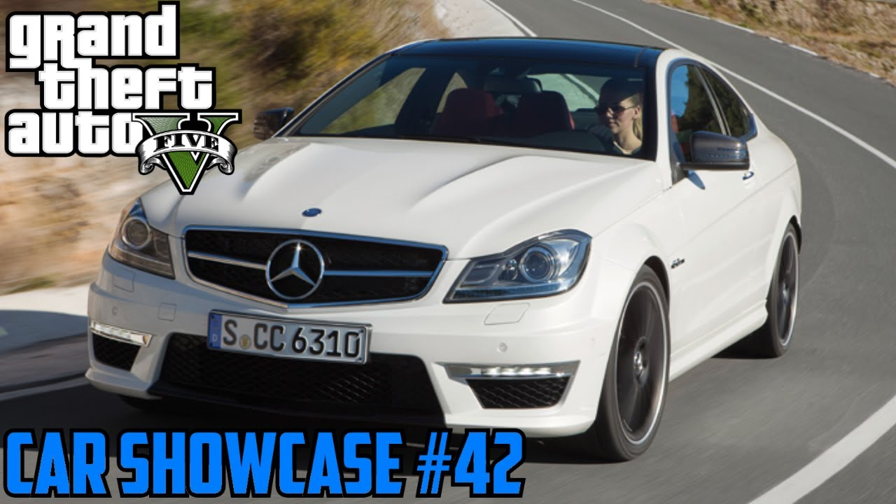 Gta V Benefactor Schwartzer Mercedes C63 Amg Car