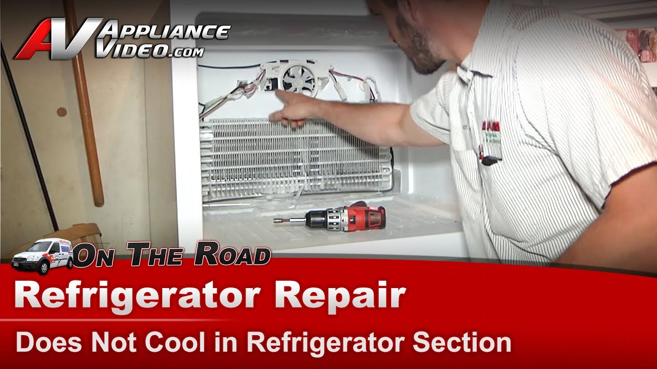 Amana Maytag Refrigerator Repair Not Cooling Replacing