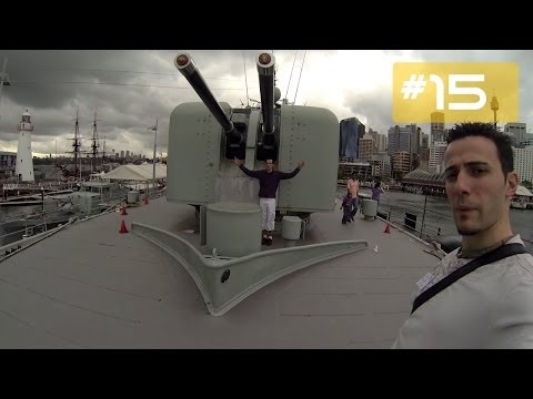 Australian National Maritime Museum Sydney - Day 16, Part 2