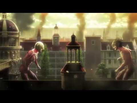 Attack on Titan Annie vs Eren AMV