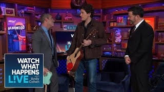 John Mayer Surprises Andy Cohen In The La Clubhouse Wwhl