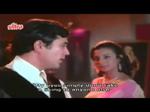 O Mere Dil Ke Chain (eng Sub) [full Video Song] (hd) With Lyrics - Mere Jeevan Saathi video