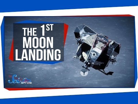 The First-Ever Moon Landing