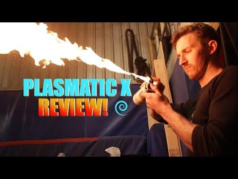 Plasmatic X Electric Arc Lighter Review -- Doubles as a Tazer??