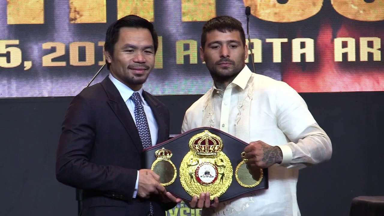 Pacquiao out to prove he's not yet done with boxing