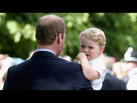Prince George Was Adorably Fussy at Princess Charlotte's Christening