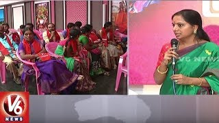 Singareni Elections: Trade Union Leaders Joins In TBGKS In Presence Of MP Kavitha