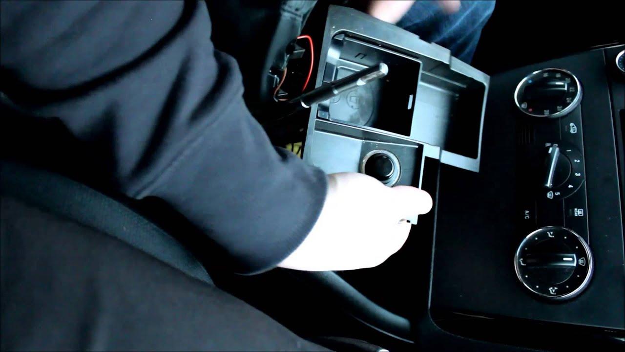 Mercedes A-Klasse Umbau ICT beleuchteter Schaltknauf W169 ...