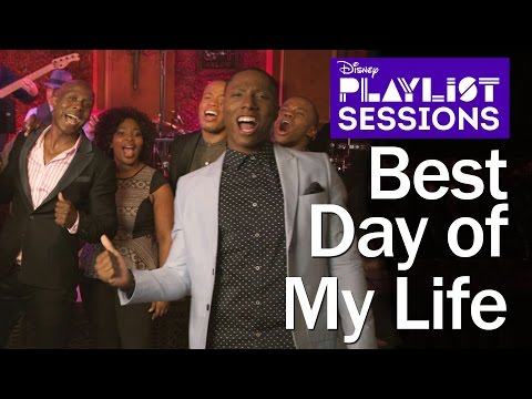 Lion King Broadway Cast | Best Day Of My Life & Hakuna Matata Mashup | Disney Playlist Sessions video