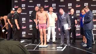 Jesus Rojas - Claudio Marrero weigh in