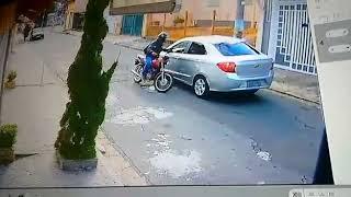 O assaltante se deu mal a o assaltar um Uber
