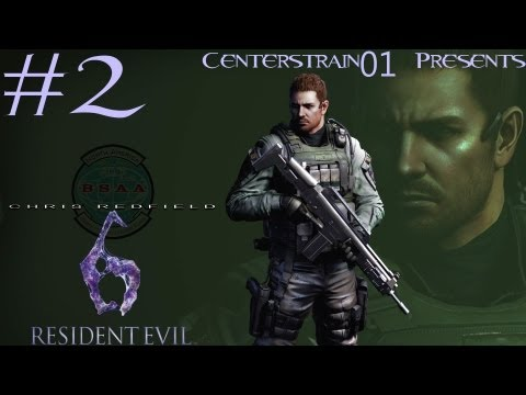 Resident Evil 6 - Walkthrough - Chris Redfield - Part 2 - Ace Of Spades
