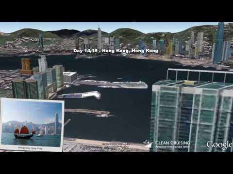 "Azamara Quest video ""14 nt Southeast Asia Cruise"" ex Singapore"