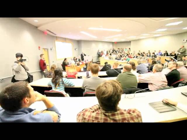 Mic Check! Ohio Students Interrupt Gas Industry