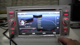 Car DVD GPS of model AS-FF3S for FORD FOCUS C-MAX S-MAX FIESTA Transit Galaxy FUSION