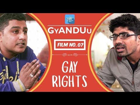 Gay Rights - PDT GyANDUu Viral film no.7 - Comedy / Restaurant / LGBT Community/ Lesbian