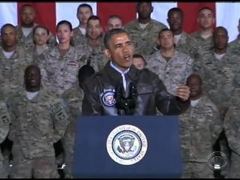 Obama makes unannounced Memorial Day visit to Afghanistan