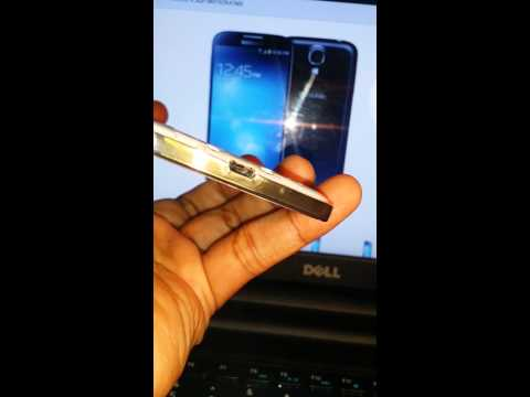 Samsung Galaxy S4 Melted