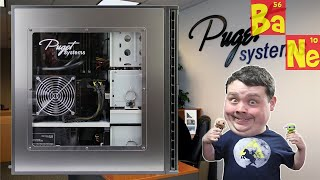 Visiting Puget Systems Custom PC Builder w/ Fractal Josh
