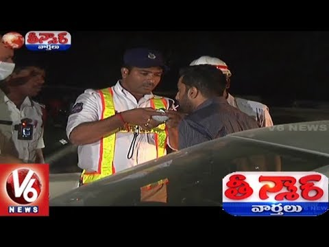 Drunk And Drive Cases Increases In Hyderabad, 3082 Cases Filed In A Month | Teenmaar News