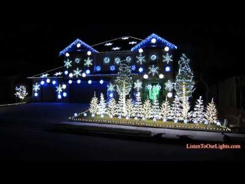 Christmas Lights Gangnam Style (original) video