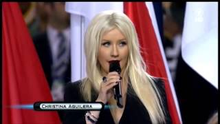 Jennifer Hudson Video - Beyonce vs Christina Aguilera, Fantasia, Yolanda Adams, Jennifer Hudson - NATIONAL ANTHEM