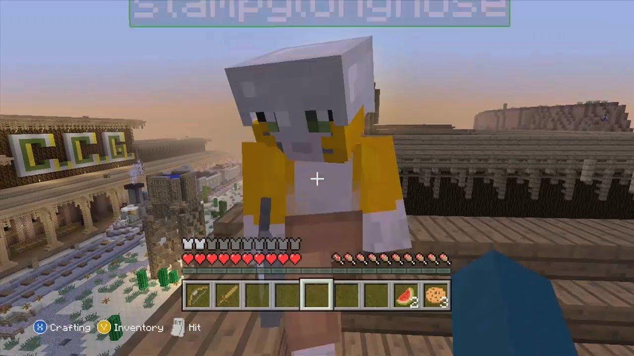 Minecraft Xbox Hunger Games