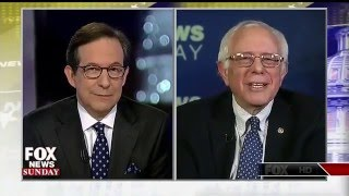 Bernie Sanders Laughs At Chris Wallace For Pretending Rich Haven