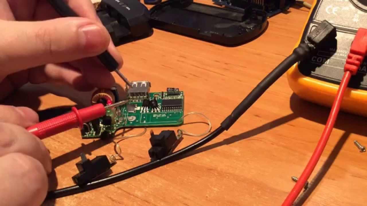 Ремонт зарядника для телефона