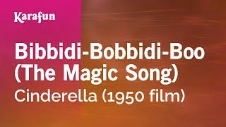 download lagu Karaoke Bibbidi-bobbidi-boo - Cinderella The Al * gratis