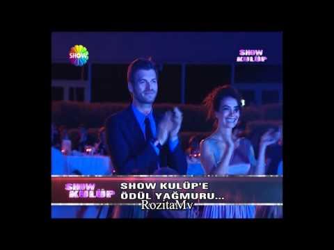 Songül Öden ve Kavanç tatlıtuğ - Magazin gazetecileri Derneği Ödül töreninin 19.6.2012
