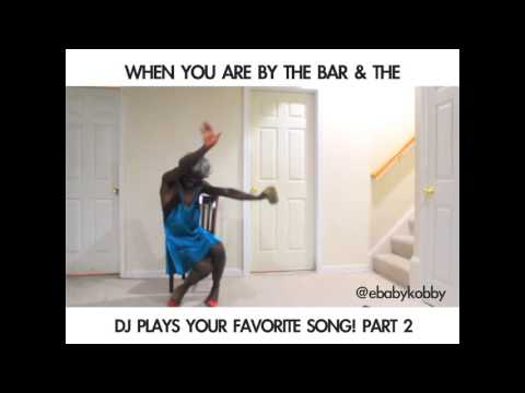 WHEN THE DJ PLAY YOUR FAVORITE SONG PART 2 (African Comedy)