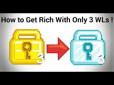 How to Get Rich With Only 3 WLs   Growtopia