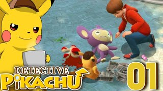 I AM A GREAT DETECTIVE...   Detective Pikachu Gameplay EP01 In Hindi