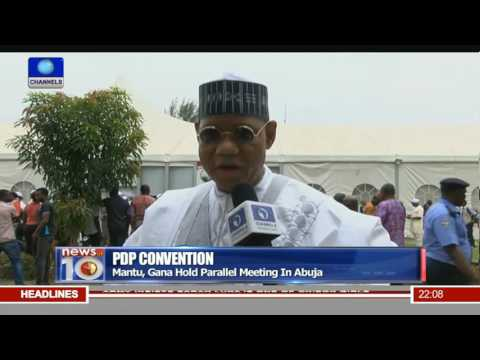 News@10: PDP Leadership Crisis Continues To Deepen With Parallel Convention 21/05/16 Pt.1