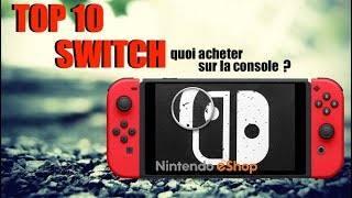 TOP 10 NINTENDO SWITCH | LES JEUX ESHOP SWITCH ! ( FORMAT DIGITAL )