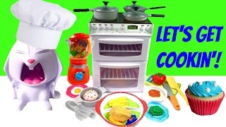 Let's Get Cookin' with Chef Snowball - Cook with Electric Oven and Working Dishwasher!