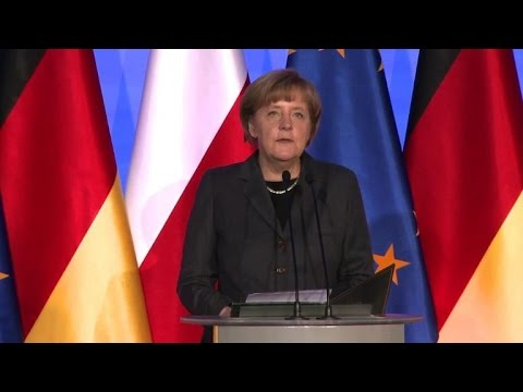 Angela Merkel says no security in Europe without Russia