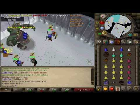 2007 Oldschool Runescape: Bandos GWD Guide For Attackers and Tankers (With Commentary)