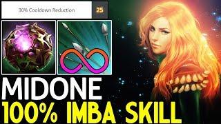 MidOne [Windranger] 100% Imba Build - Skill Infinity 7.15 Dota 2