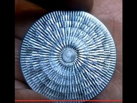 Как накатать торец детали?