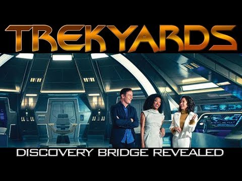 USS Discovery Bridge Revealed! - Trekyards Analysis