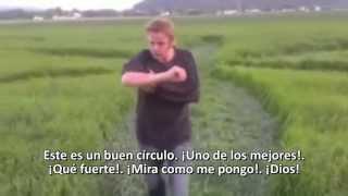 """¡¡¡HISTÓRICO!!!: Primer """"CROP CIRCLE"""" EN NORUEGA -18 de julio 2013 (Sub. Español)"""
