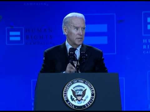 Vice President Joe Biden at the 2015 HRC Equality Convention