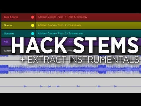 Hacking NI Stems Files: How To Extract Instrumentals