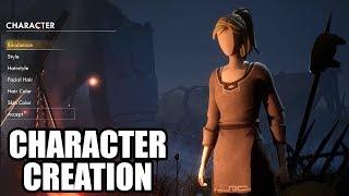 ASHEN - Character Creation / Cutstomization - Male and Female